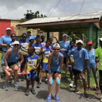 2018 Day 1 Our last group after a very hot and hilly 40+ KM with Monchy Primary School. We got this! image
