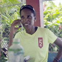 Verneta Lesforis, who represented St. Lucia at the 2000 Sydney Olympics (Women's 200 m) is in charge of the route. image